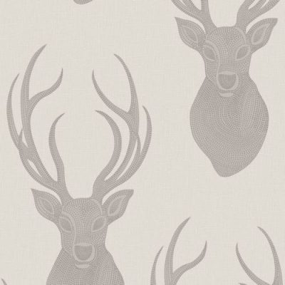 273700 Rasch Stag Taupe Glitter Wallpaper Collection