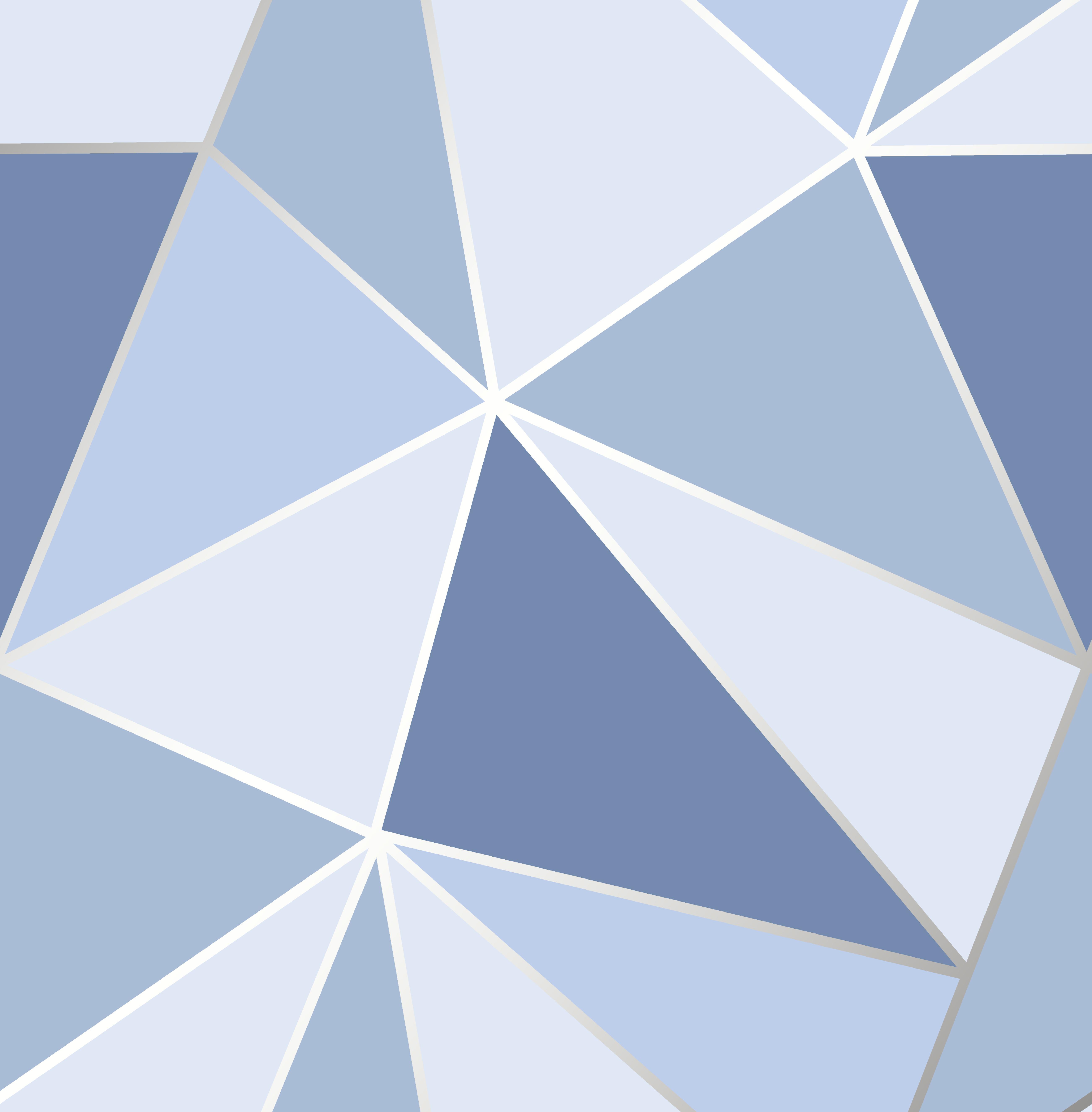 Apex Geo Blue Geometric Design