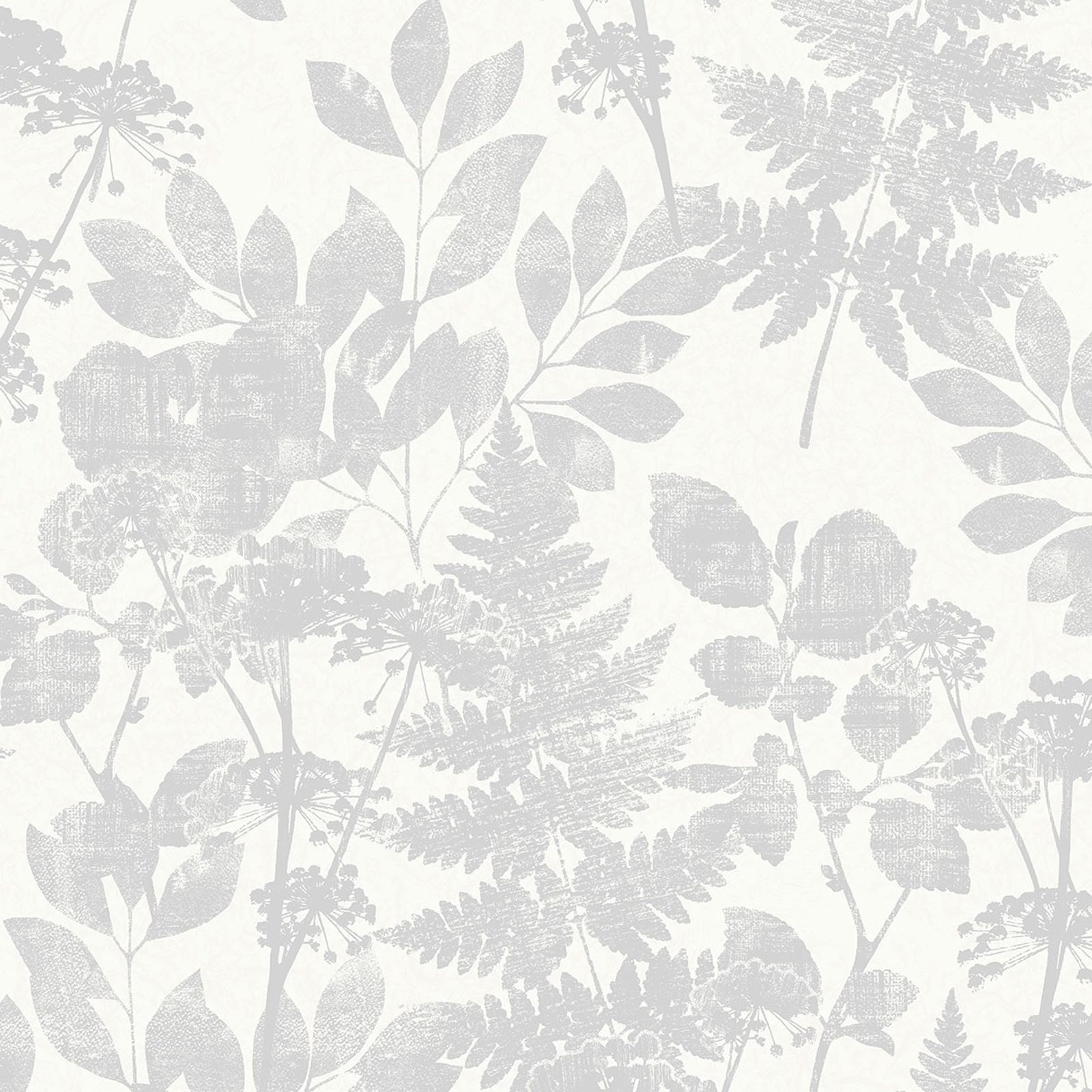 M1250 Crown Florence Bracken Grey Pearl Wallpaper