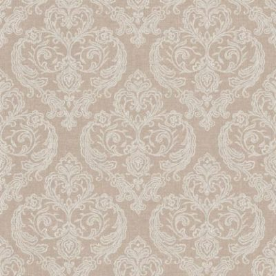 M1308 Crown Calico Damask Hessian Wallpaper