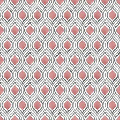 2702 22702 Plume Coral Ogee Mirabelle Street Prints Wallpaper