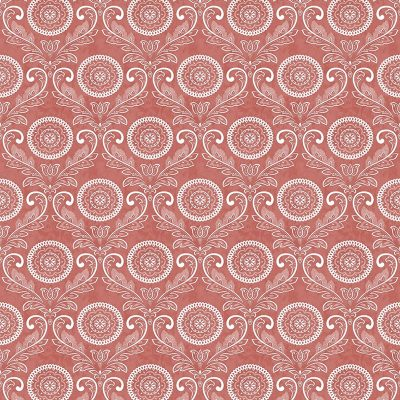 2702 22712 Jubilee Red Medallion Mirabelle Street Prints Wallpaper