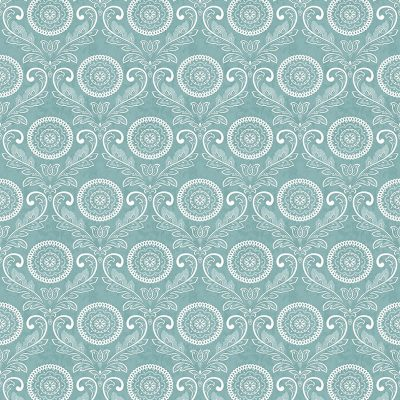 2702 22713 Jubilee Teal Medallion Mirabelle Street Prints Wallpaper