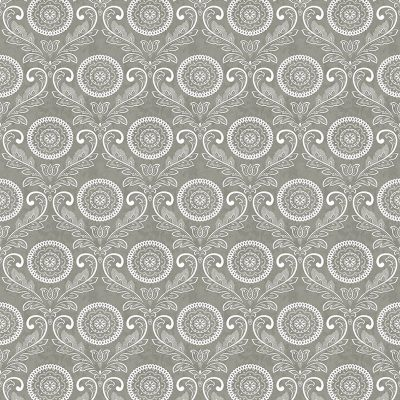 2702 22714 Jubilee Grey Medallion Mirabelle Street Prints Wallpaper