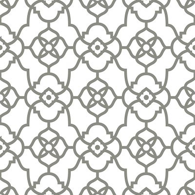 2702 22720 Atrium Grey Trellis Mirabelle Street Prints Wallpaper