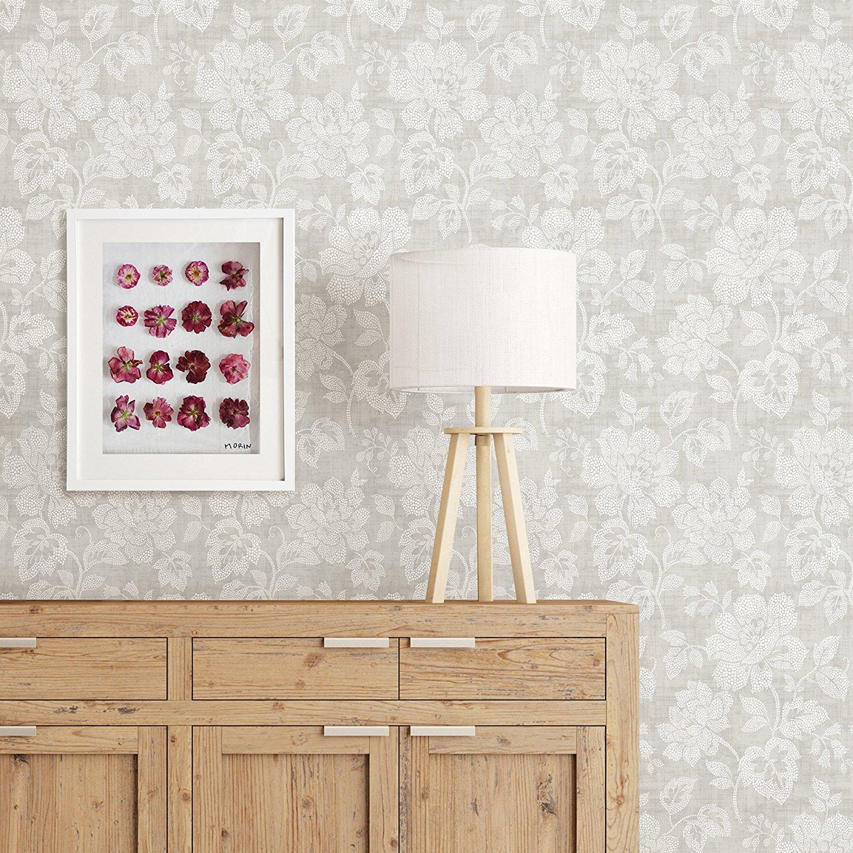 2702 22736 Tivoli Grey Floral Mirabelle Street Prints