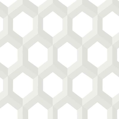 FD23842 Neutral Hexagonal Eclipse Street Prints Wallpaper Collections