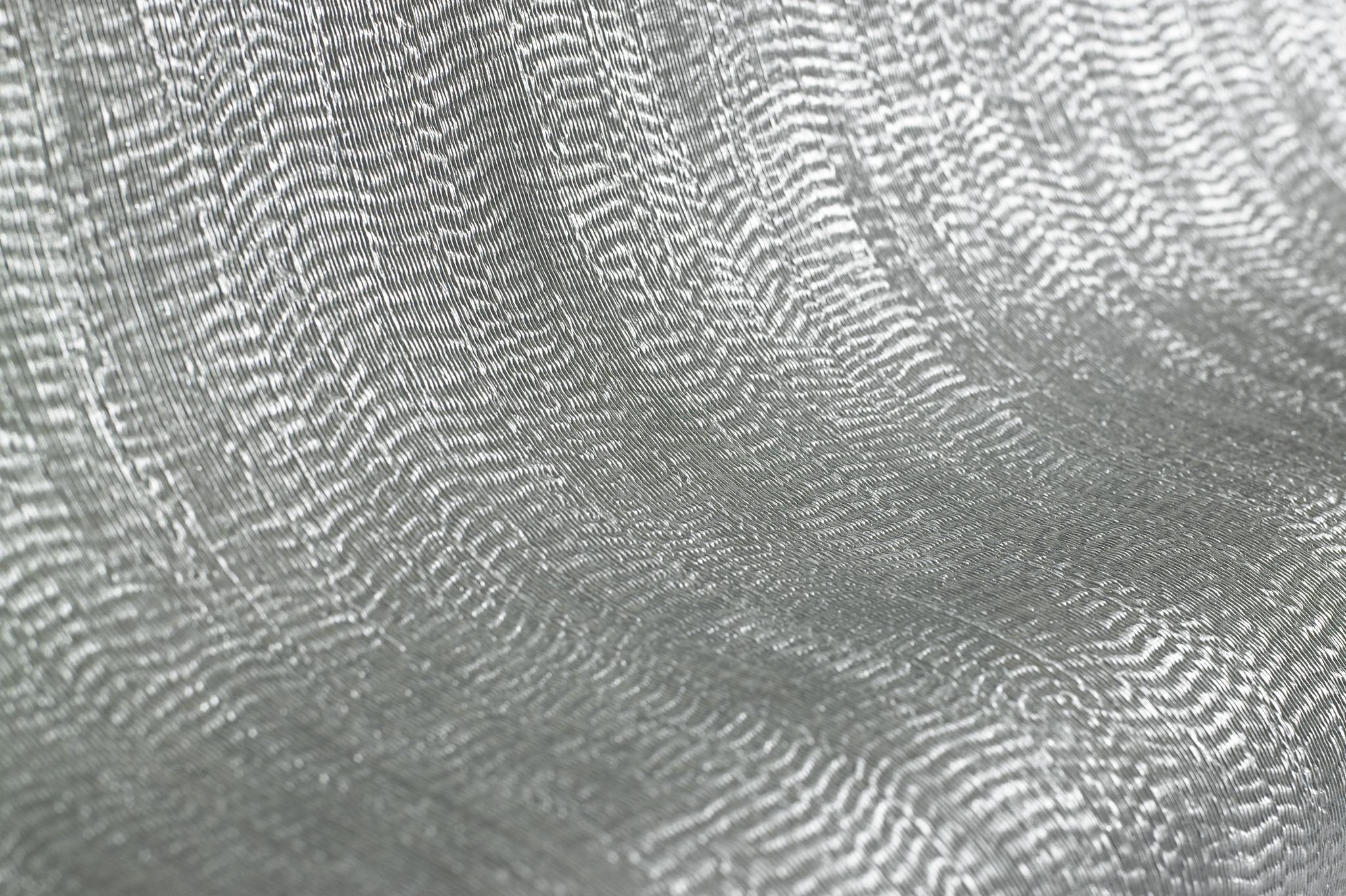 Metallic Silver Plain Wallpaper 104761 Wallpaper Sales