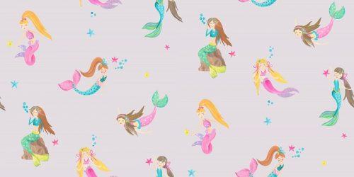 Mermaid World Lilac 696102 Arthouse Wallpaper