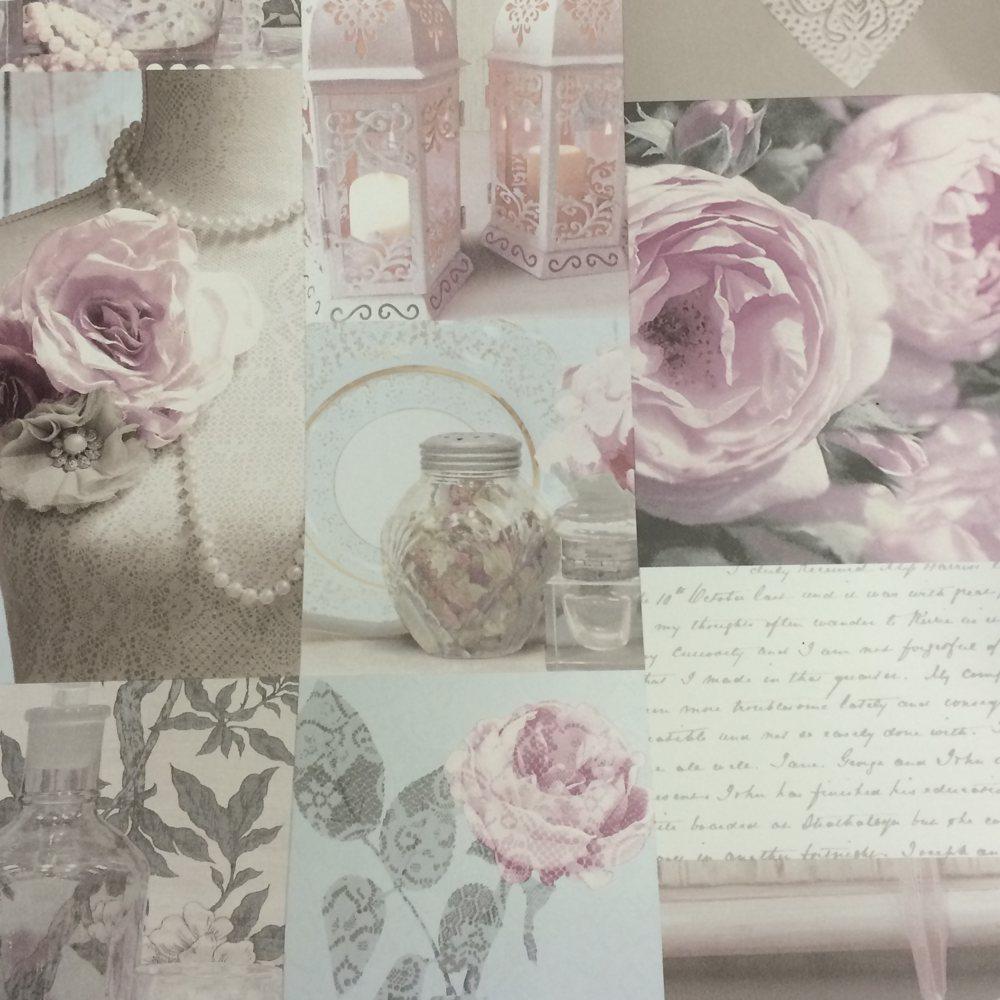 Shabby Chic Wallpaper Uk charlotte floral wallpaper blush arthouse 665200