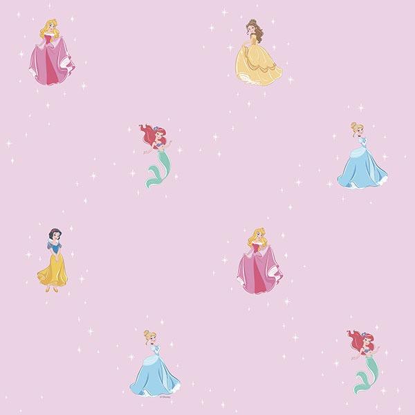 Pr3025 2 Magical Kingdom Disney Princess Wallpaper
