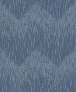 Navy Fragment Glitter Chevron 65412