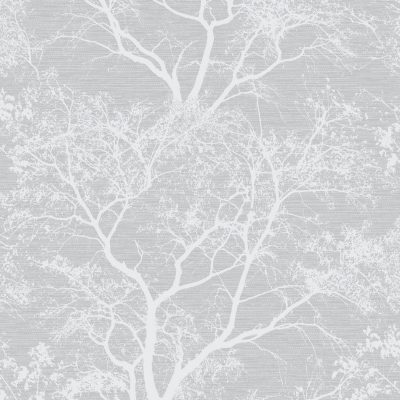 Glitter Grey Tree Whispering Wallpaper 65401 Holden