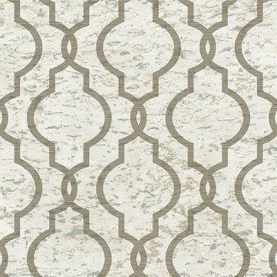 UK20930 cork trellis beige