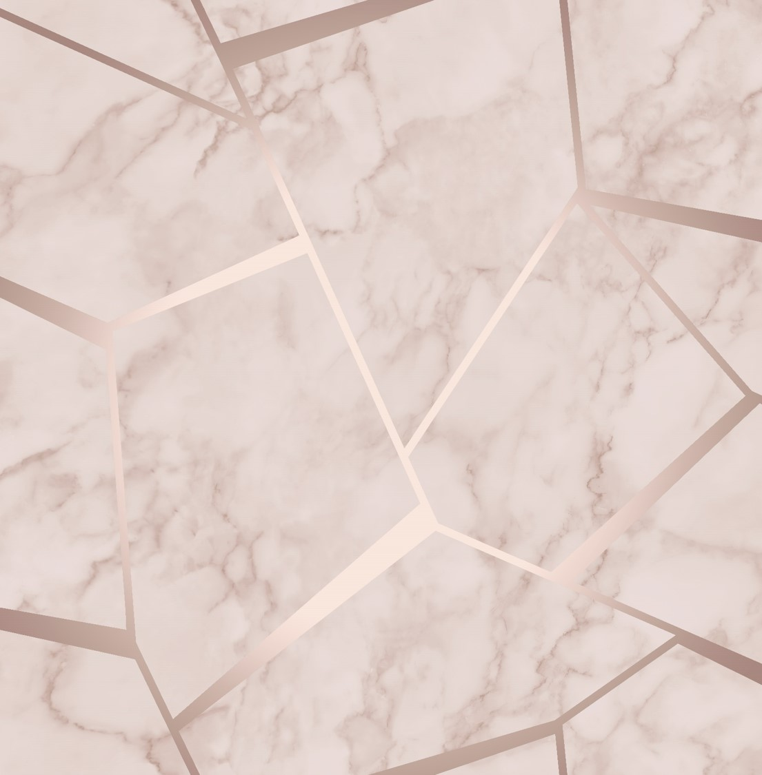Fractal Geometric Marble Wallpaper Rose Gold Fd42264 Wallpaper Sales