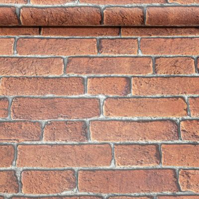 Muriva Bluff Red Brick Wallpaper J30108