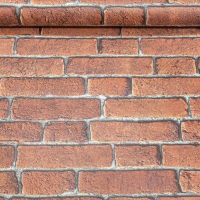 Muriva Bluff Red Brick Wallpaper J30108
