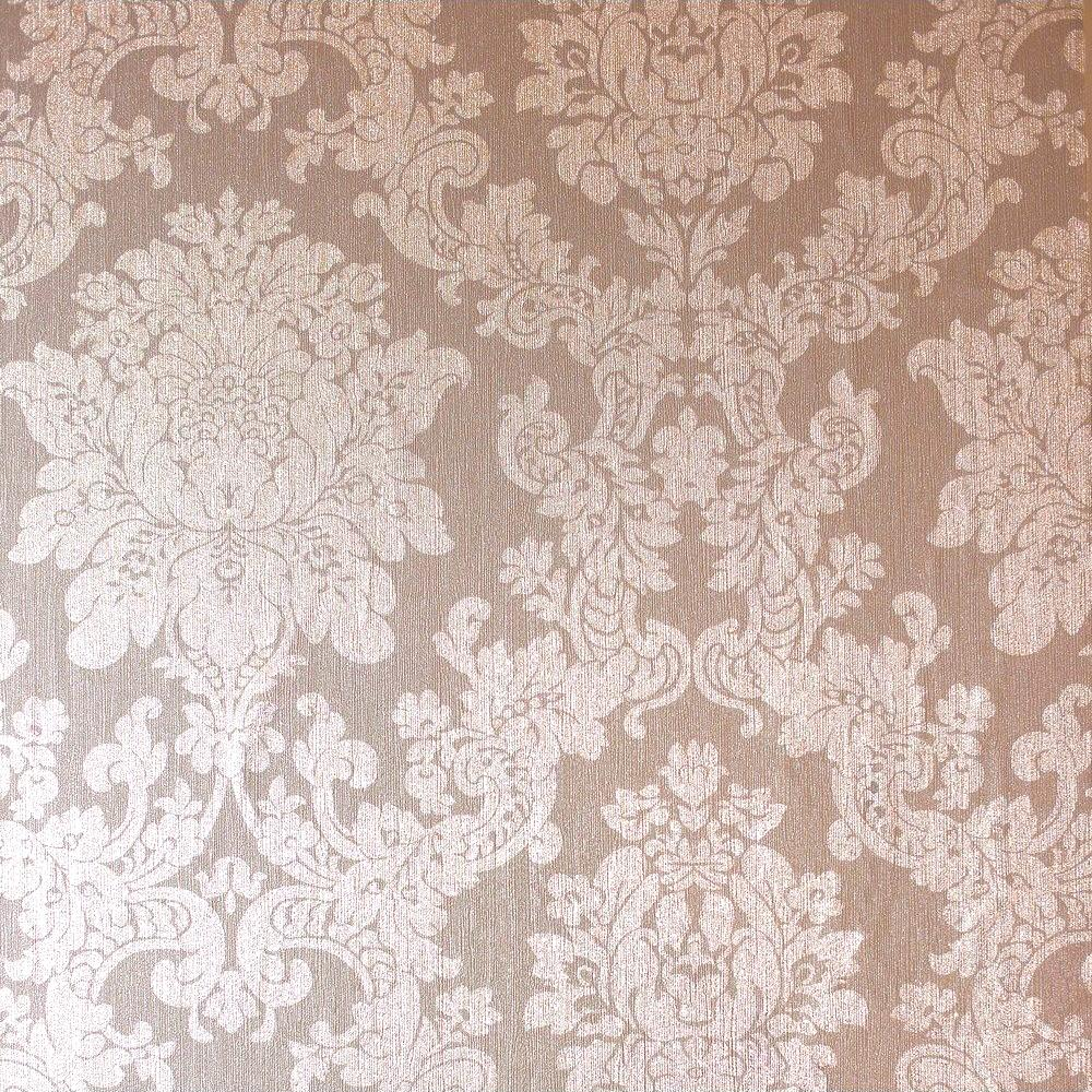 Foil Damask Wallpaper Rose Gold Arthouse 294400 Wallpaper Sales