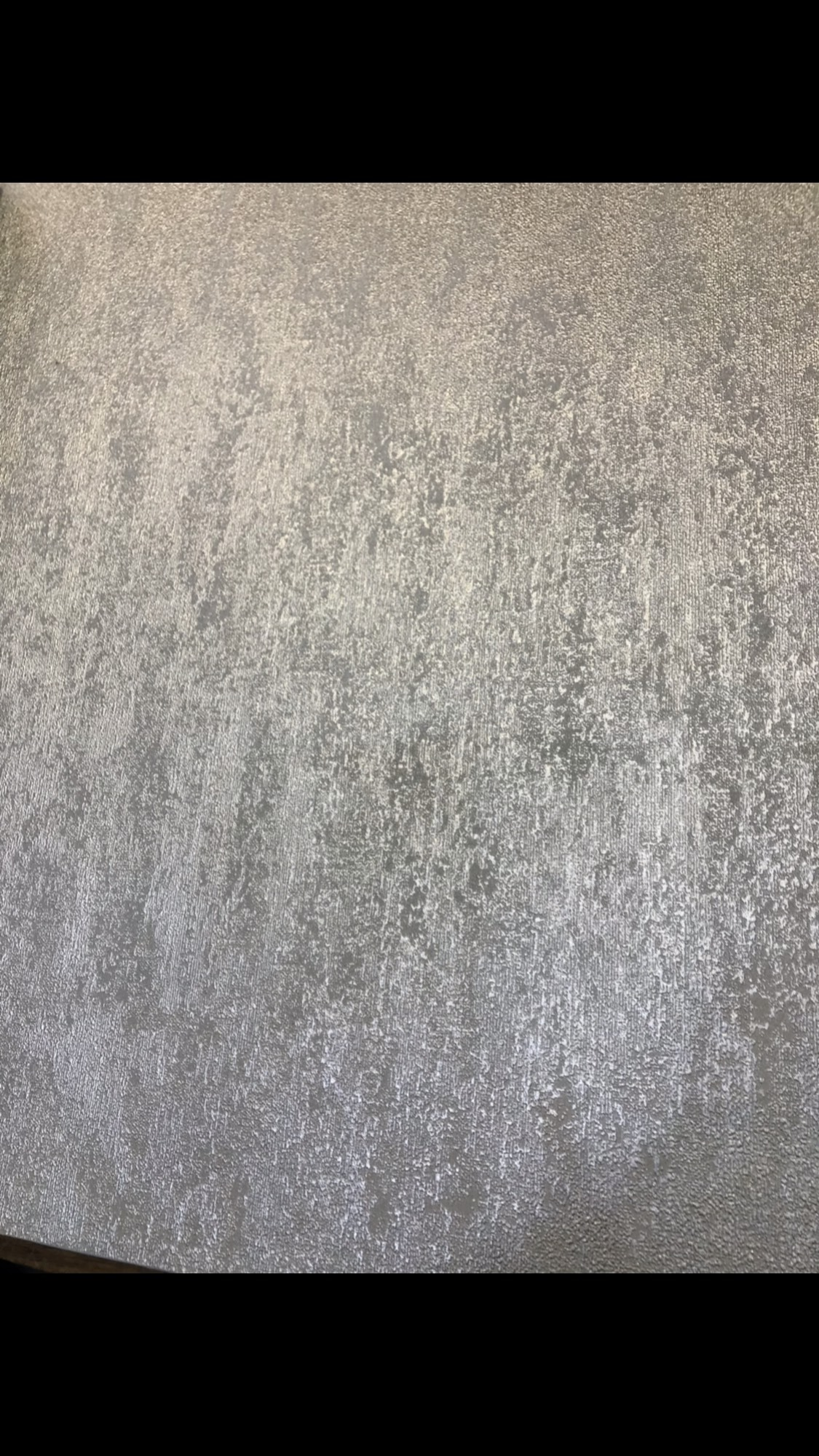 Silver Molten Texture Plain 104954 Wallpaper Sales