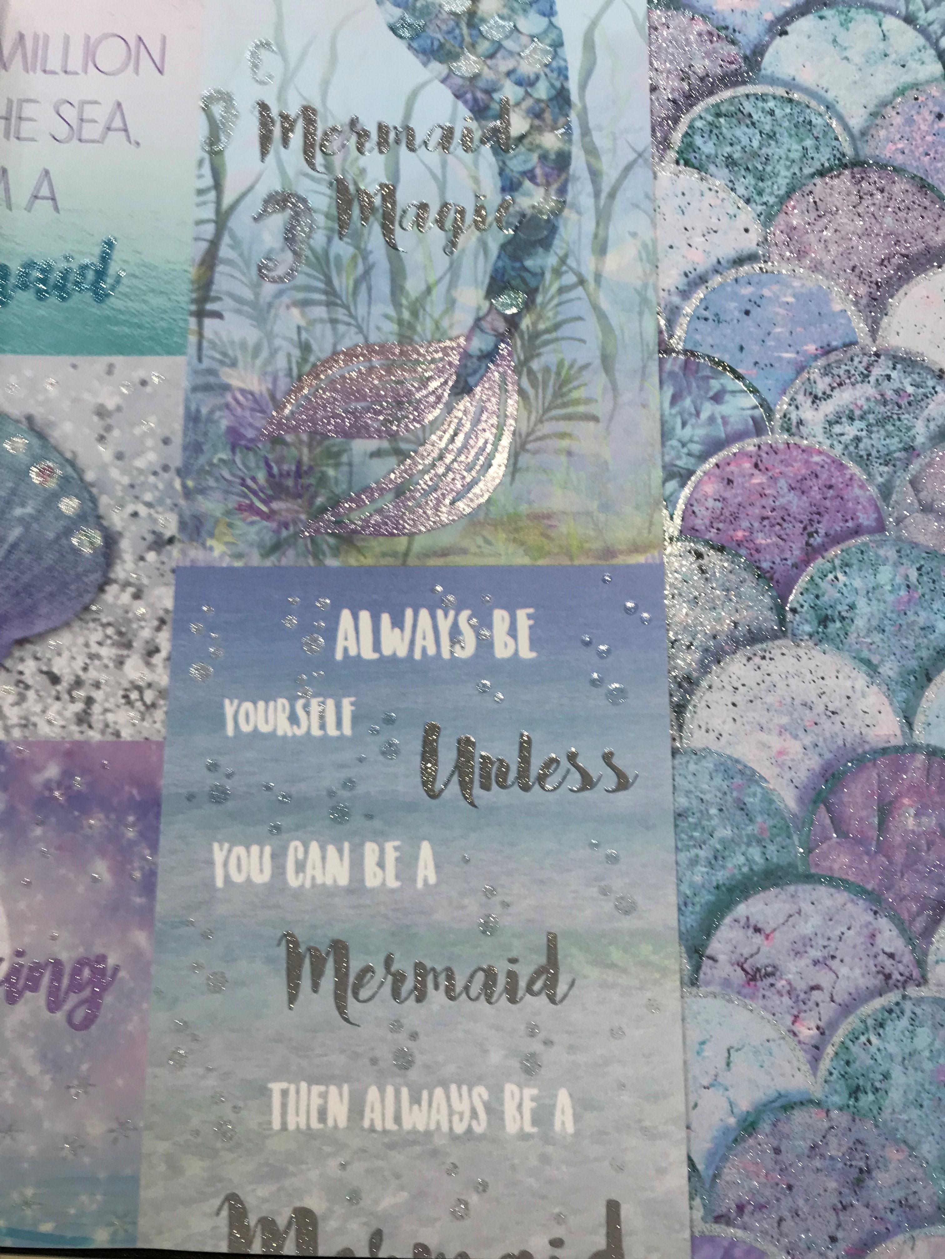 Arthouse Mermazing Scales Wallpaper 698305 Glitter Mermaid Pink Purple