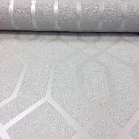 Silver Quartz Trellis Wallpaper Sales