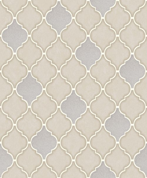 Trellis Tile Beige Stone 89310