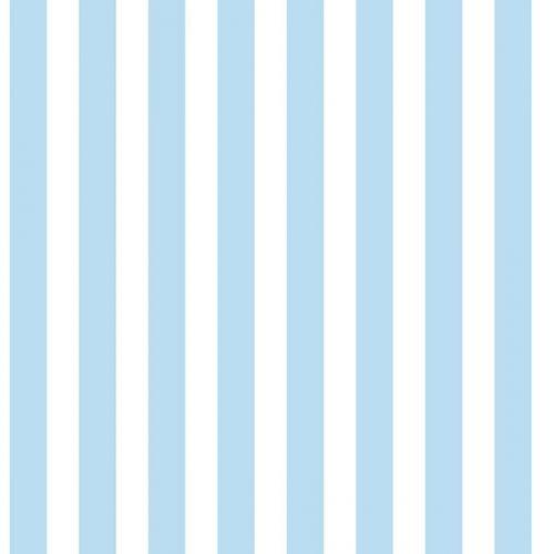 Light Blue Stripe Wallpaper Galerie Just 4 Kids G56025