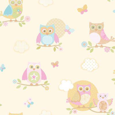 Owl Wallpaper Galerie Just 4 Kids G56035