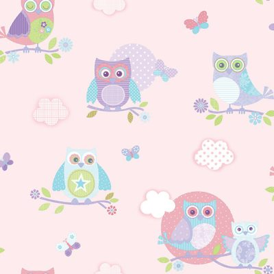Owl Wallpaper Galerie Just 4 Kids G56036