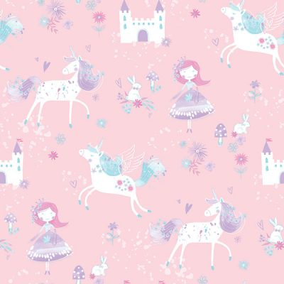 Unicorn Fairy Wallpaper Galerie Just 4 Kids G56523