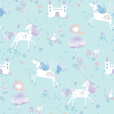 Unicorn Fairy Wallpaper Galerie Just 4 Kids G56524