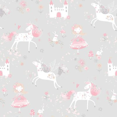 Unicorn Fairy Wallpaper Galerie Just 4 Kids G56525