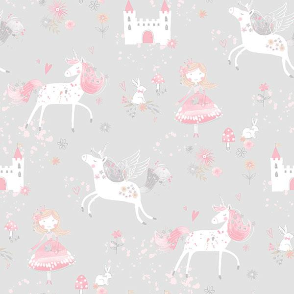 Unicorn Fairy Wallpaper Galerie Just 4 Kids G56525