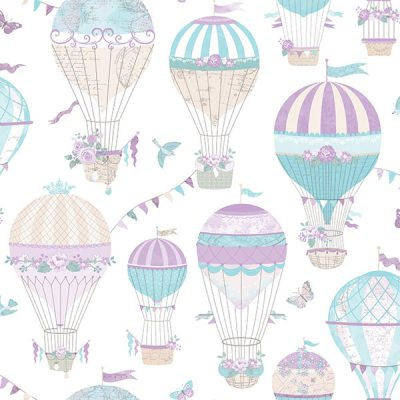 Hot Air Balloon Wallpaper Galerie Just 4 Kids G56543