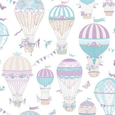 Hot Air Balloon Wallpaper Galerie Just 4 Kids G56543
