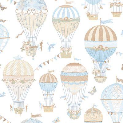 Hot Air Balloon Wallpaper Galerie Just 4 Kids G56544