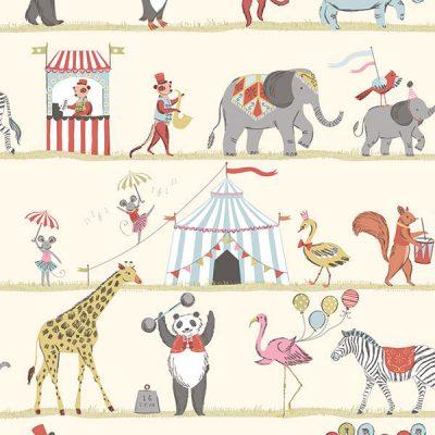 Circus Theme Wallpaper Galerie Just 4 Kids G56545