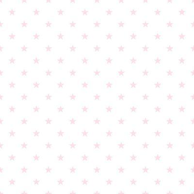 Mini Pink Star Wallpaper Galerie Just 4 Kids G56552
