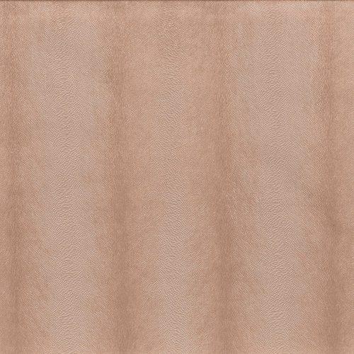 Rose Gold Fur Metallic Stripe