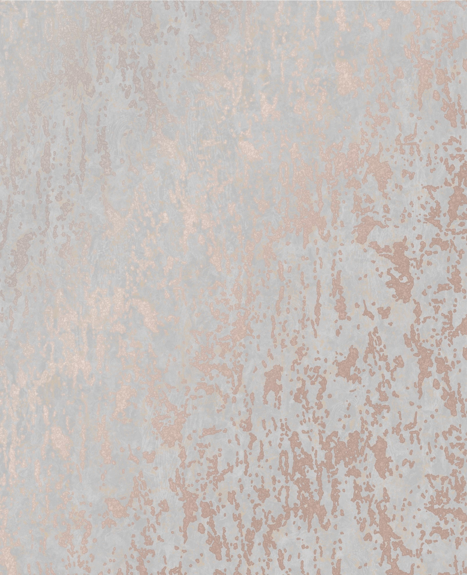 Rose Gold Distressed Industrial Texture Wallpaper