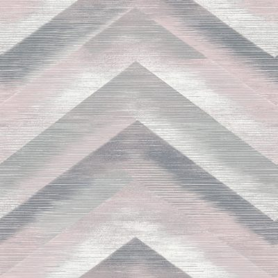 35723 Dusky Pink Chevron Wallpaper By Holden Décor