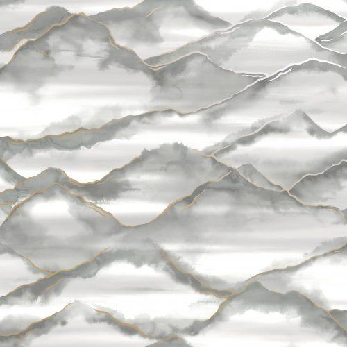 Holden Decor Elias Grey Wallpaper 90510