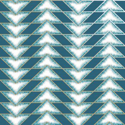 Teal Teton Geometric 90530 HoldenWallpaper