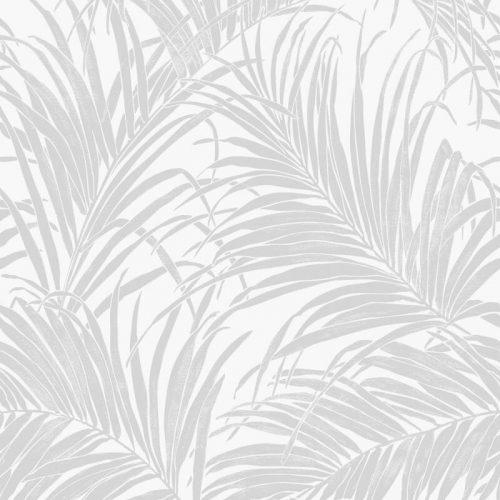 Kiss Foil Palm Metallic Silver 903200 wallpaper