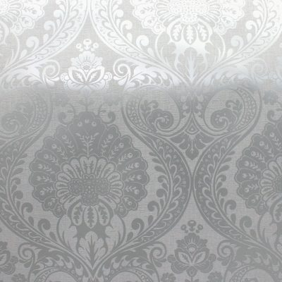 Decoris Damask Silver/Grey Arthouse