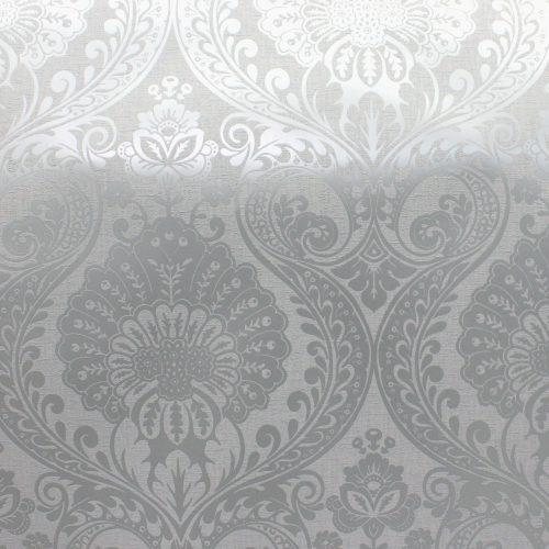 Decoris Damask Silver/Grey Arthouse