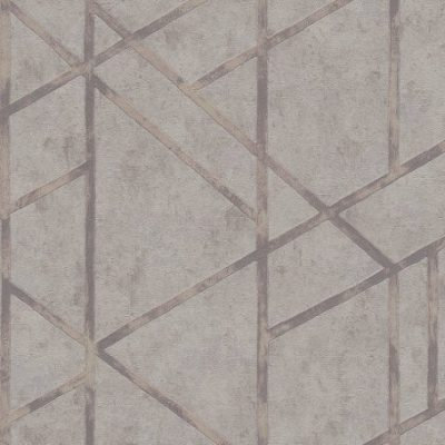 Grey Francesca Concrete Geometric 36928-2 Metropolitan Stories
