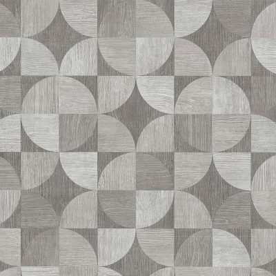 Grey Wood Grain Geometric 36913-3 Metropolitan Stories