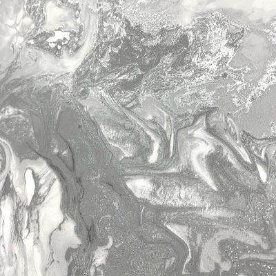 Liquid Marble Silver Grey 6355