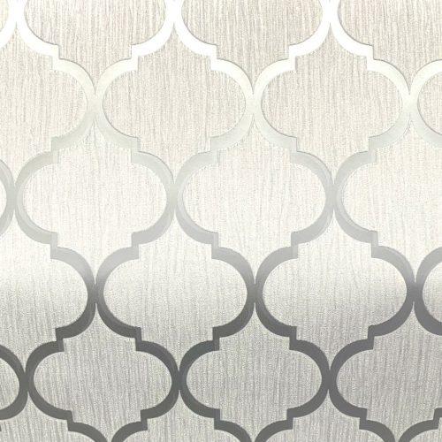Crystal Trellis White/Silver 8896